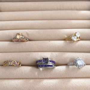 Jewelry - Dress up any outfit with these Beautiful Rings